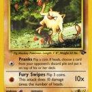 Pokemon Gym Challenge Single Card Common Blaine's Mankey 63/132