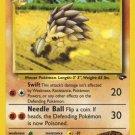Pokemon Gym Challenge Single Card Uncommon Brock's Sandslash 36/132
