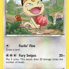 Pokemon XY Roaring Skies Single Card Common Meowth 67/108