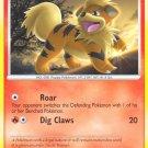 Pokemon D&P Secret Wonders Single Card Common Growlithe 89/132