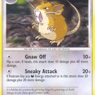 Pokemon D&P Secret Wonders Single Card Uncommon Raticate 61/132
