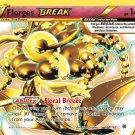 Pokemon XY BREAKthrough Single Card Rare Holo BREAK Florges BREAK 104/162