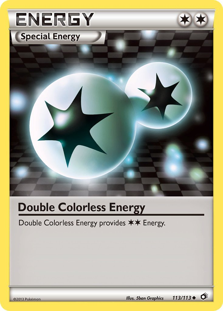 Pokemon B&W Legendary Treasures Single Card Uncommon Double Colorless Energy 113/113