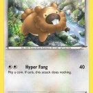 Pokemon XY Base Set Single Card Common Bidoof 106/146