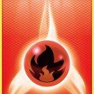 Pokemon Black & White Base Set Single Card Common Fire Energy 106/114