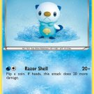 Pokemon Black & White Base Set Single Card Common Oshawott 28/114