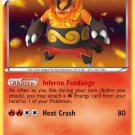 Pokemon Black & White Base Set Single Card Rare Holo Emboar 20/114