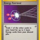 Pokemon Base Set 2 Single Card Uncommon Energy Retrieval 110/130