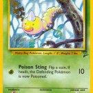 Pokemon Base Set 2 Single Card Common Weedle 100/130