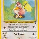 Pokemon Base Set 2 Single Card Uncommon Farfetch'd 40/130