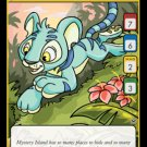 Neopets TCG Return of Dr. Sloth Single Card Common Blue Kougra 72/100