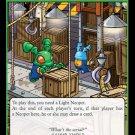Neopets TCG Return of Dr. Sloth Single Card Rare Holo Grundo Warehouse 7/100