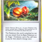 Pokemon Platinum Base Set Single Card Uncommon Memory Berry 110/127