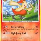 Pokemon Platinum Base Set Single Card Uncommon Combusken 45/127