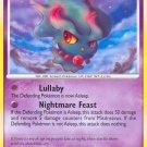 Pokemon D&P StormFront Single Card Common Misdreavus 68/100