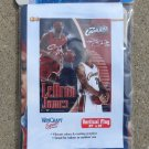 "2006 LeBron James Cleveland Cavaliers NBA Vertical Flag 27"" by 37"" Flag Only Unopened Flag Banner"