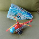 Clockwork Rescue Helicopter S-54 Tin Toy Reproduction