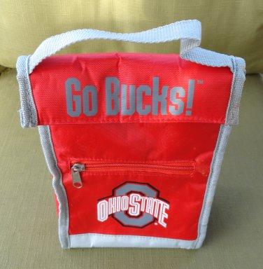 Ohio State University OSU Buckeyes Insulated Lunch Cooler Bag
