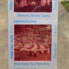 Early 60's Disneyland Fantasyland Set of 4 Natural Color Slides Original Package