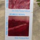 Early 60's Pana-Vue Los Angeles Freeways Set of 4 Slides Sealed Original Package