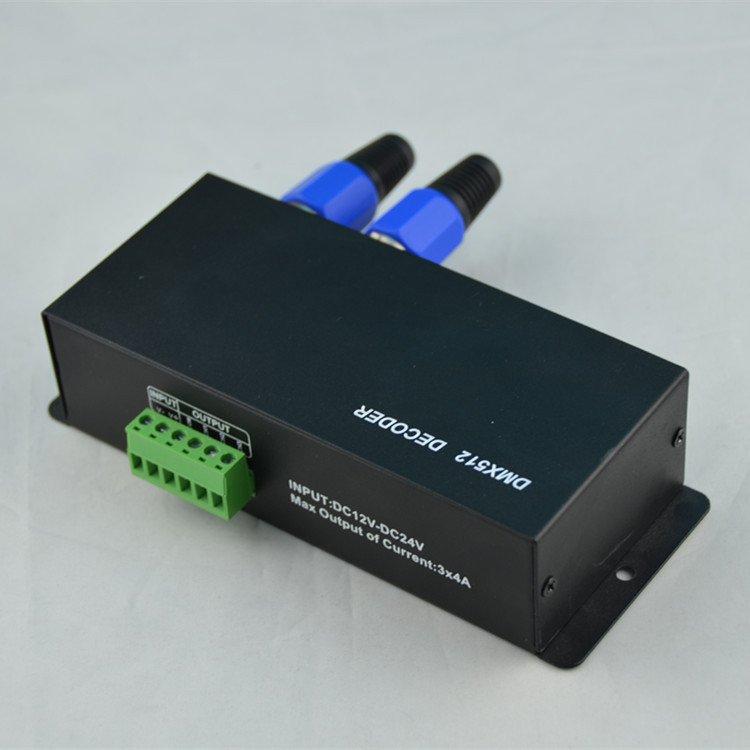 DMX512 Decorder LED Controller for RGB 5050 3528 LED Strip Light