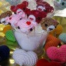 2 Lollipop Valentine Bear