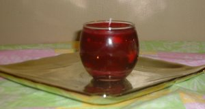 Small Apple Cinnamon Candle