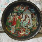 BRADFORD EXCHANGE Russian Golden Cockerrel Decor Plate 1989