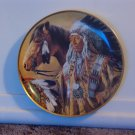 FRANKLIN MINT Pride Of The Sioux Indian Decor Plate