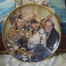 FRANKLIN MINT The Three Stooges Decor Plate 1993