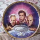 HAMILTON Star Trek Confrontation Decor Plate 1995