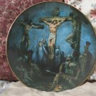 HERITAGE HOUSE Jesus Crucifixion Plate 1987