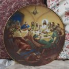 HERITAGE HOUSE Jesus Last Supper Plate 1986