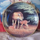 INTERNATIONAL WILDLIFE Deer Decor Plate 1991