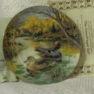 KNOWLES Green Winged Teal Duck Decor Plate 1987