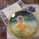 KNOWLES March Of Dimes Child Theme Decor Plate 1989