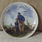 NORMAN ROCKWELL Grampa Looking At Sea Decor Plate