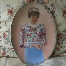 PRINCESS DIANA 1997 Bradford Decor Plate No 3 Oval
