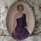 PRINCESS DIANA 1998 Bradford Decor Plate 9 Oval