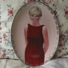PRINCESS DIANA 1998 Bradford Decor Plate No 12 Oval