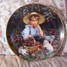 RECO Boy Under The Apple Tree Collectors Plate 1988