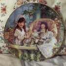 RECO Cats In The Cradle Child Decor Plate 1991