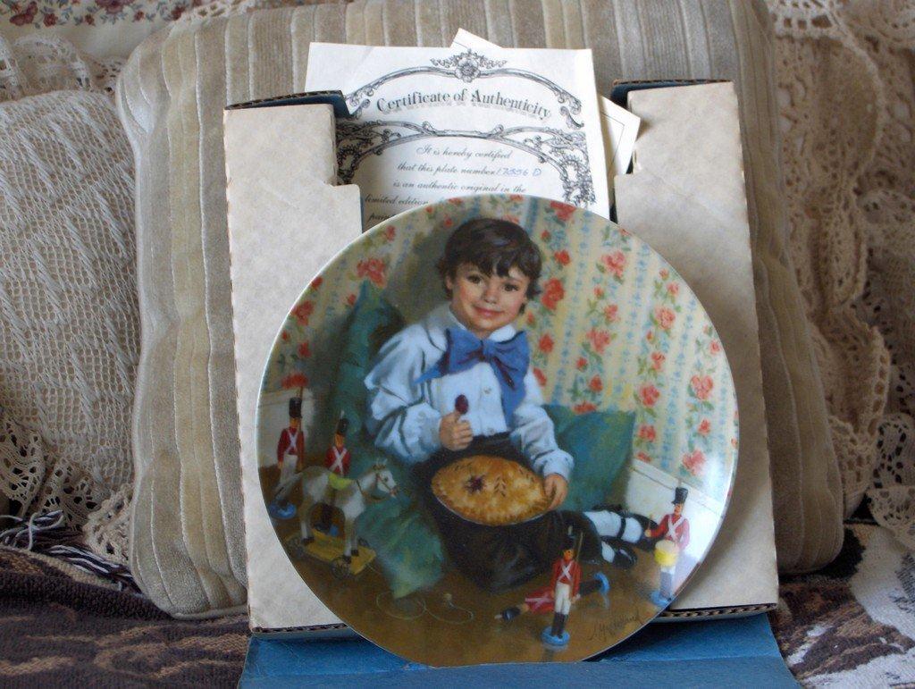 RECO Little Jack Horner Collectors Plate 1982