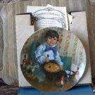 RECO Little Jack Horner Collectors Plate 1982