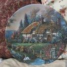 WJ GEORGE Garden Path Cottage Plate 1992