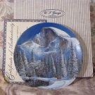 WJ GEORGE Half Dome Mountain Collectors Plate 1990