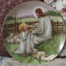WJ GEORGE Lords Shepard Jesus Decor Plate 1988