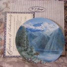 WJ GEORGE Mount McKinley Plate 1991 Mountain