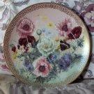 WJ GEORGE Poppy Pastora Flower Plate 1991