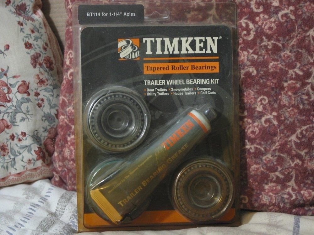 TIMKEN Trailer Wheel Bearing Kit 1 1/4 in. Axles Unused